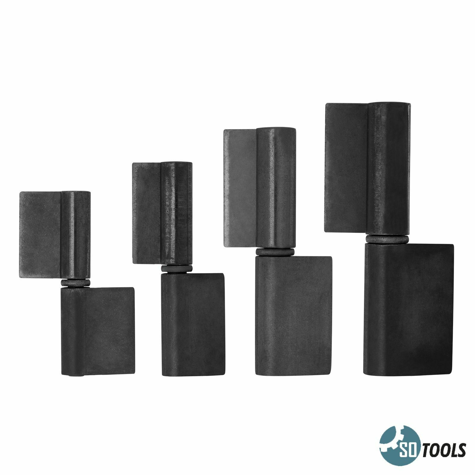 SO-TOOLS/® Anschweissband mit kurzer Fahne 15 x 120 mm Stahlscharnier Torscharnier