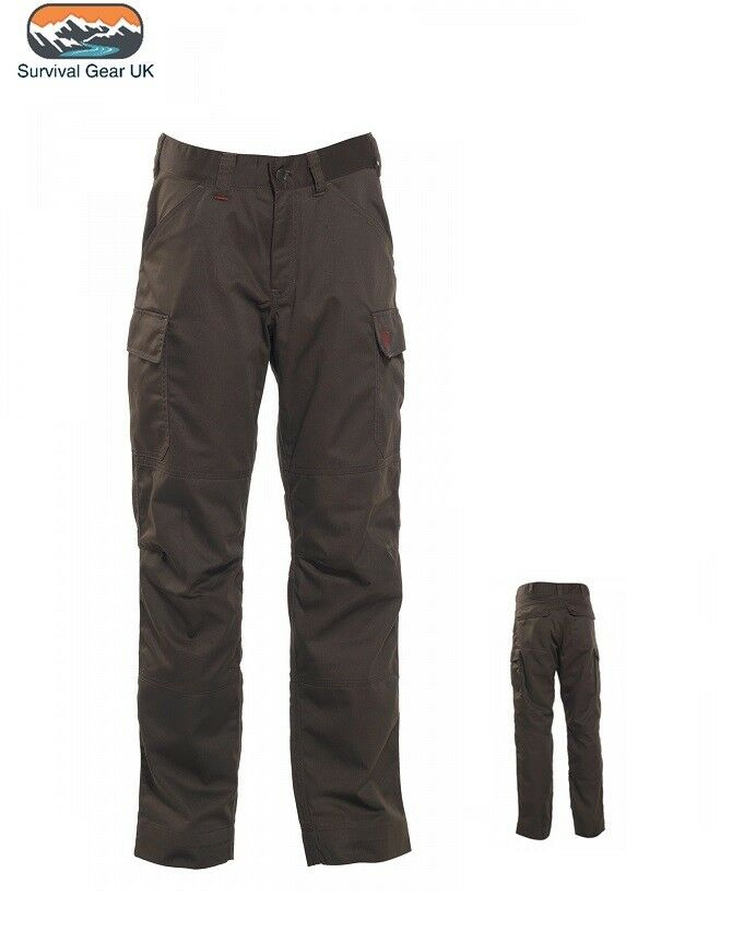 Deerhunter Rogaland Expedition Trousers Hunting Shooting Fishing DH Brown Leaf