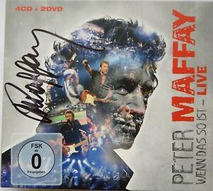 Peter Maffay - Wenn das so ist Live 4 CD + 2 DVD SIGNIERT von Peter NEU
