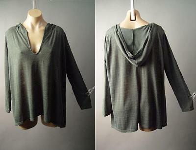 Medieval Druid Earthy Forest Pixie Faerie Fairy Hooded Top 205 mv Sweater S M L