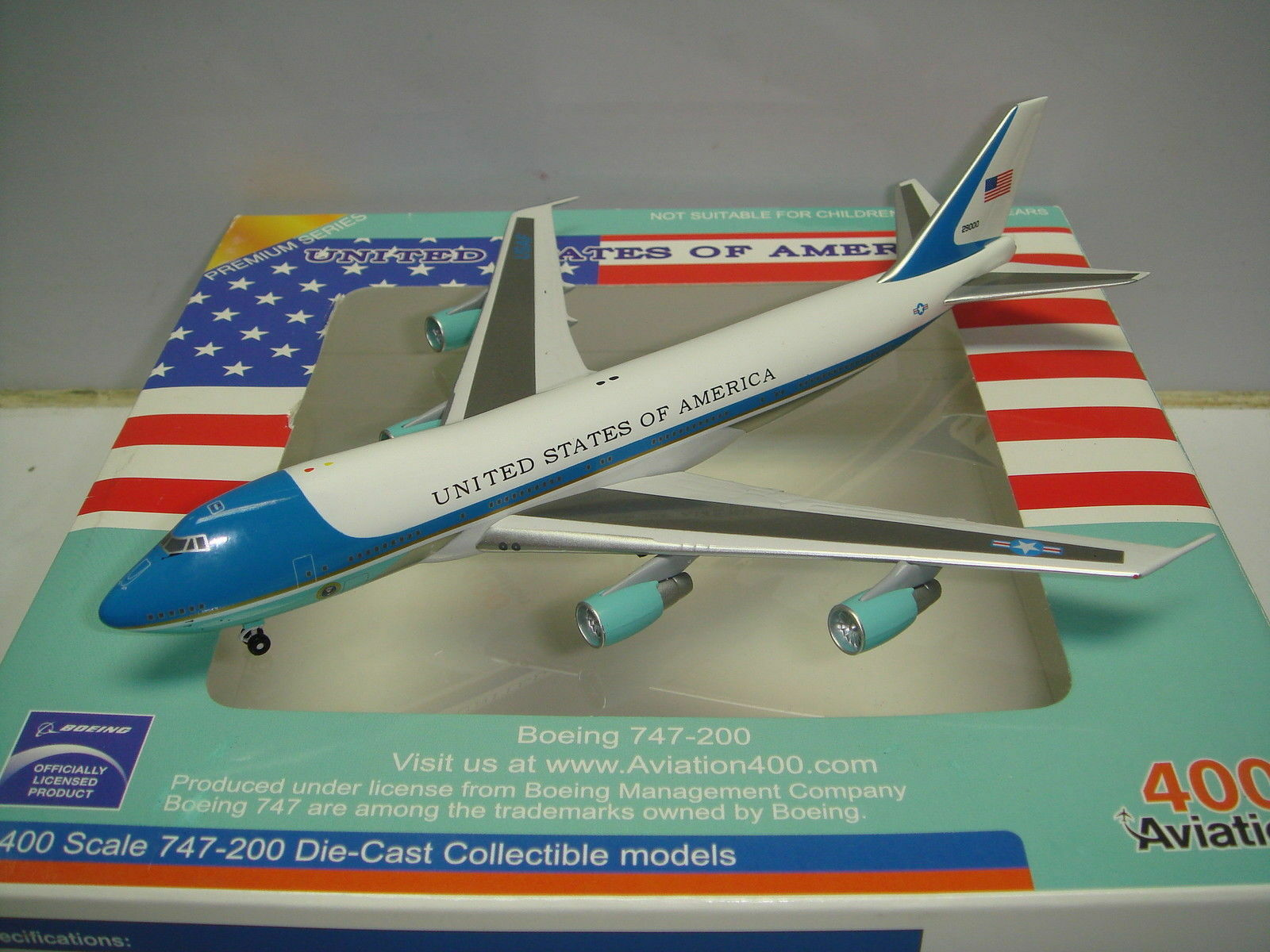 United States of America Air Force One B747-200  VC-25A  (28000)  AV4742028