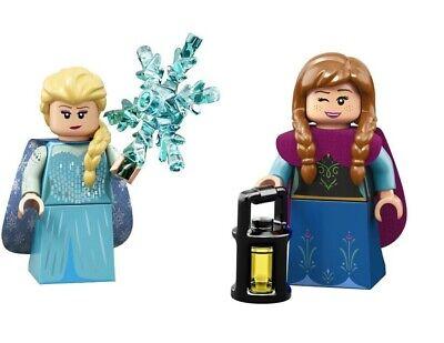 LEGO Minifigure DISNEY Series Frozen Elsa and Anna 71024 NEW SEALED