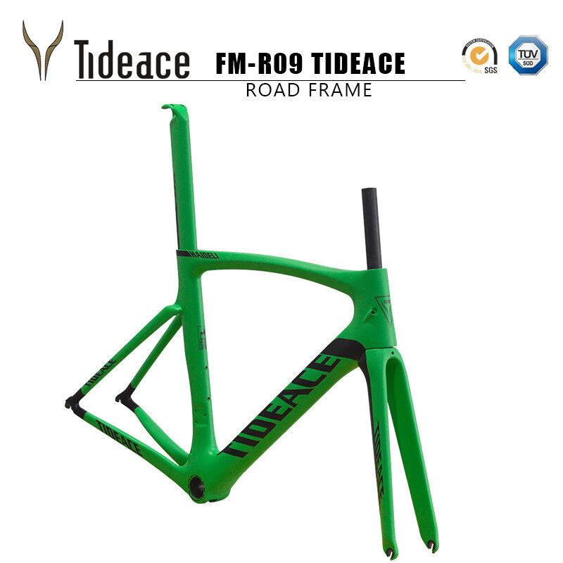 700C Carbon Cycling Bike Frames PF30 FMR09 Road Racing Bicycle Frameset OEM