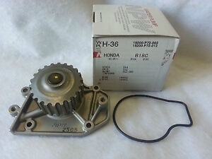 Made in Japan NPW Engine Water Pump 19200RNAA01 For Honda Civic 1.8L L4