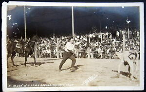Mineral Wells Texas 1942 Cowboy Rodeo Harry Williams