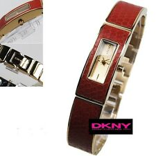 DKNY LADIE'S BURGANDY BANGLE COLLECTION WATCH NY8882