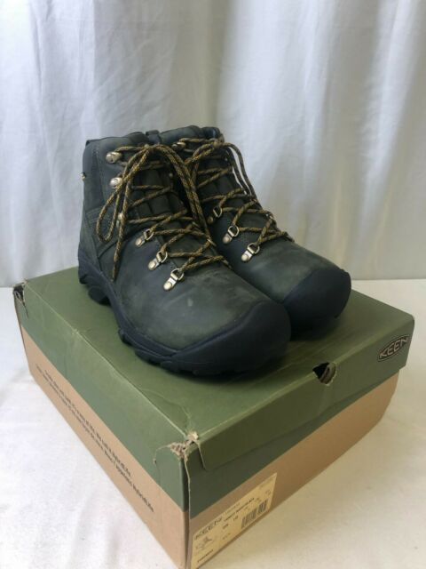 Keen Pyrenees Men's Waterproof Hiking Boots Forest Night/Black Size 10