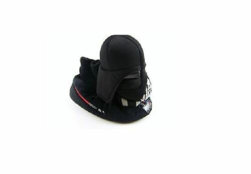 STAR WARS DARTH VADER SLIPPERS WITH NON SLIP BOTTOMS TODDLERS SIZES NWT!
