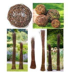 Gartendeko Aus Weidengeflecht, gartendeko weidenkugeln garten objekte weidenbüschel dekoration, Design ideen