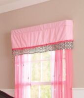 Girls Summer Juliette Flowers Valance Accent For Window Cute Fs:)