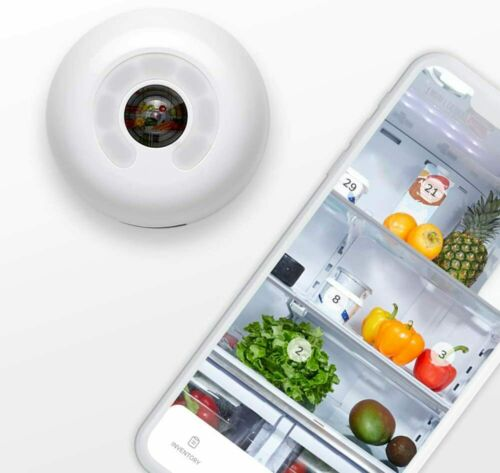 Fridgecam by più intelligente ultima versione con tracciamento DEGLI ALIMENTI-FRIGO Wi-Fi Videocamera