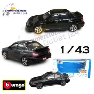 MODELLINO-SUBARU-IMPREZA-WRX-STi-2001-1-43-BURAGO-AUTO-DA-COLLEZIONE-STOCK
