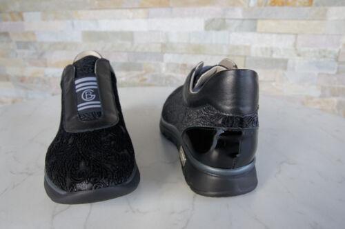 847390 360 Slip Shoes Newly Ehem Scarpe Baldinini € uvp Slip Nero On 39 On xwqxZAY7