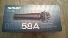 MICRO Microphone SHURE BETA 58 A NEUF