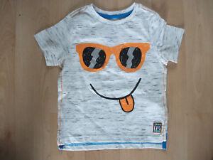 Amical ** Bébés F & F T Shirt Gris & Blanc Âge 18-24 Mois Très Bon état **-afficher Le Titre D'origine Performance Fiable