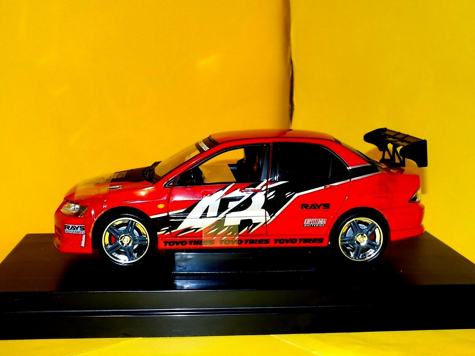 MITSUBISHI  LANCER  EVOLUTION VII  2002 THE FAST AND THE FURIOUS RC2 53607A 1 18