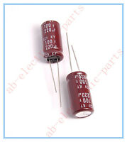 (2pcs) 220uf 100v Ncc Radial Electrolytic Capacitors 12.5x25mm Ky 100v220uf