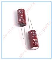 (2pcs) 220uf 100v Ncc Radial Electrolytic Capacitors 12.5x25mm Ky 100v220uf