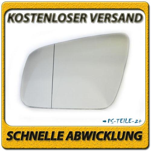 spiegelglas für MERCEDES C-Klasse W204 07-09 links asphärisch außenspiegel