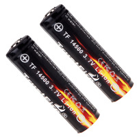 2x TrustFire 14500 3.7v 900mah Li-ion Rechargeable Battery PCB Protected Board