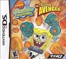 SpongeBob SquarePants: The Yellow Avenger (Nintendo DS, 2005) NEW
