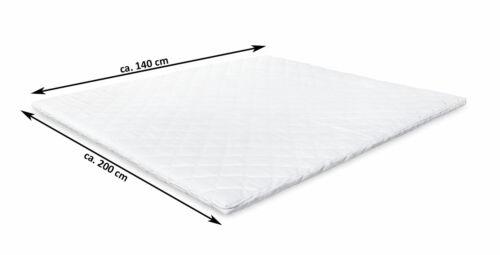 Topper Matratzenauflage Weiß