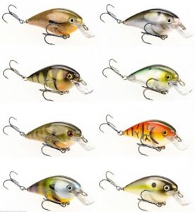 Strike-King-KVD-Square-Bill-1-5-034-3-8-Cm-Silent-Crankbaits-Bass-Fishing-Lure