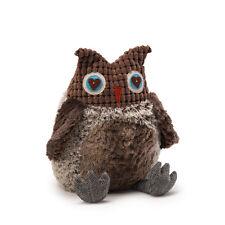 "NWT Gund Fabrock Owl Grey Large 11"" Plush Toy"