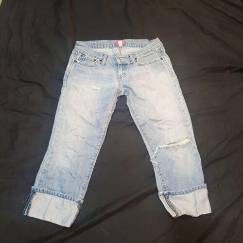 ABERCROMBIE Ripped Boyfriend Jeans - Size 2