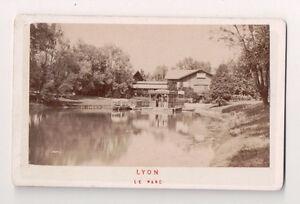 Vintage-CDV-Lake-and-Park-at-Lyon-France