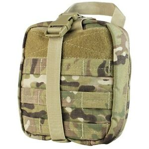 Condor MA41 Multicam MOLLE Multi-Purpose Rip-Away First Aid EMT Utility Pouch