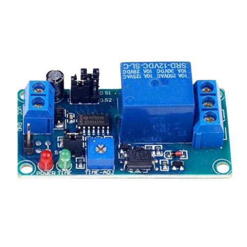 2pcs12V offenes Zeitverzögerungsschaltung Modul Verzögerungstimer-Trigger-Relais