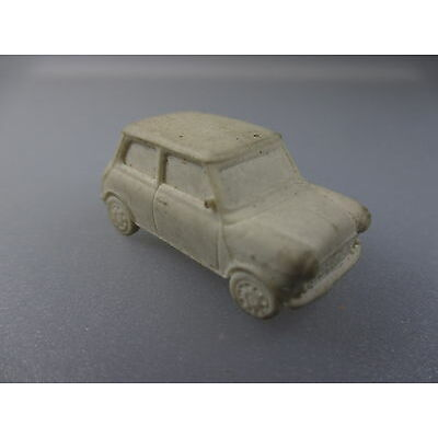 Modellauto- Radiergummi Austin Mini, Massstab 1:87 (GK.74)
