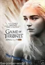 Game of Thrones Daenerys Targaryen Picture Poster Wall Art Print Home Decor New