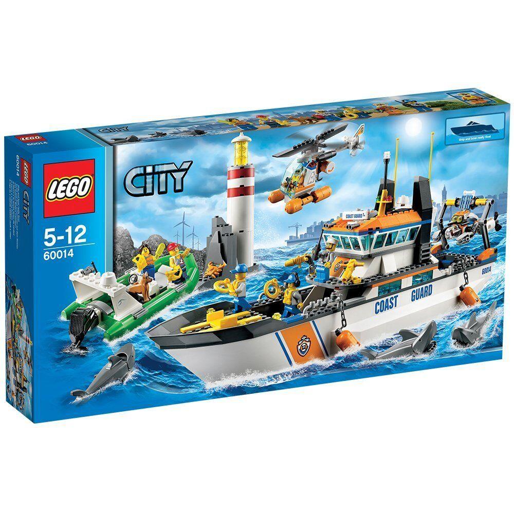 LEGO CITY COAST GUARD PATROL GUARDIA COSTIERA  60014 RARO NUOVO FUORI PRODUZIONE