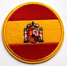 SPAIN Flag Embroidered Iron Sew On Patch Spanish souvenir tourist travel biker