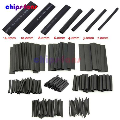 2:1 Polyolefin Heat Shrink Tube Sleeve Wrap Wire Assortment 7//8 Size 127//328PCS