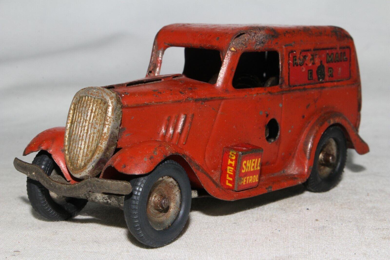 caliente Tri-Ang Minic 588ms Ford Luz Furgoneta, Royal Mail, Mail, Mail, Original  Sin impuestos