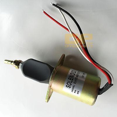 DEUTZ Diesel Engine Fuel Shutoff Shutdown Stop Solenoid Valve EHB 4813-1