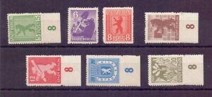 SBZ Berlin Brandenburg 1945 - MiNr. 1/7 B ungebraucht - Michel 50,00 € (693)