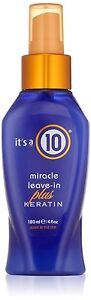 Its A 10 By It's A 10 Miracle Leave In Plus + Keratin 4oz, All Hair Unisex 4 Oz by It's A 10