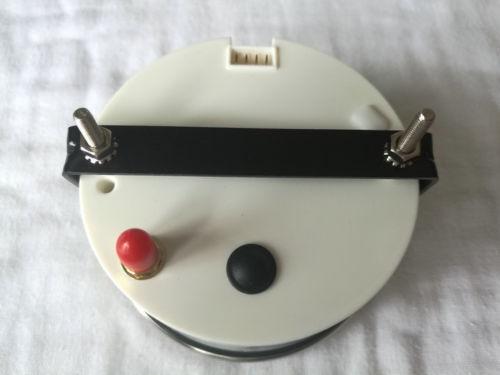 ECMS Marine Car GPS Speedometer Gauge 0-70Knot 9-32V 85mm 316L Chrome White