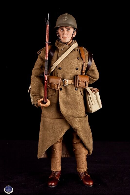 WWII French Infantryman May 1940 1/6th Scale Action Figure by CalTek