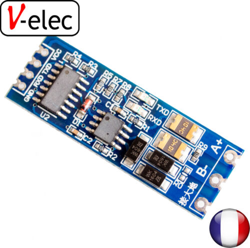 1201# TTL turn RS485 module 485 to serial UART level mutual conversion hardware