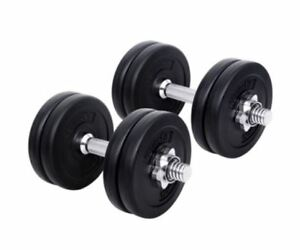 New-15-Kg-Fitness-Gym-Exercise-Dumbbell-Set-Adjustable-Weight-Plates-Non-Slip