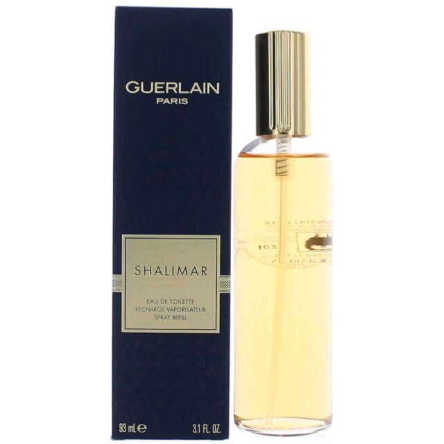 Shalimar Perfume by Guerlain, 3.1 oz EDT Spray REFILL for Women