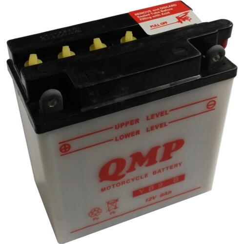 Batterie für APRILIA 125ccm AF1 Futura Baujahr 1989-1992 YB9-B