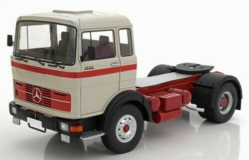 Road Kings Mercedes LPS 1632 Tractor grau rot 1969, 1 18 Limited Edition