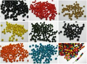 1000-pcs-Round-Wood-Seed-Beads-4mm-Wooden-Beads-Colour-for-Choice