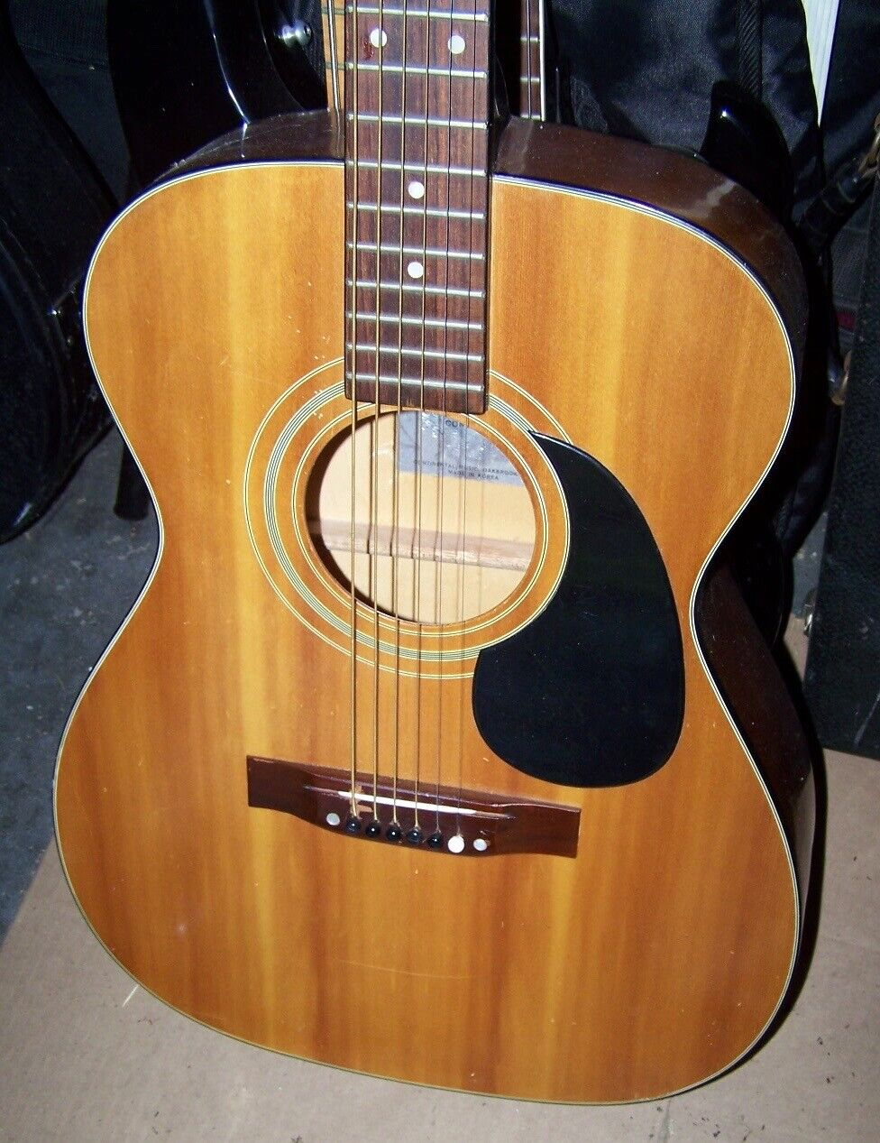 s l1600 - 1970's Continental Drifter DF-150 Acoustic Guitar